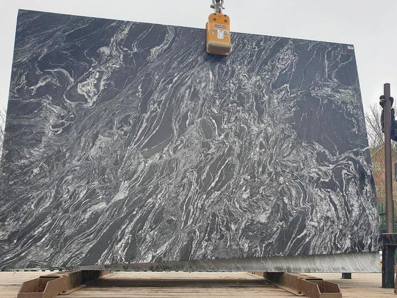 Black Forest Leather - Granite